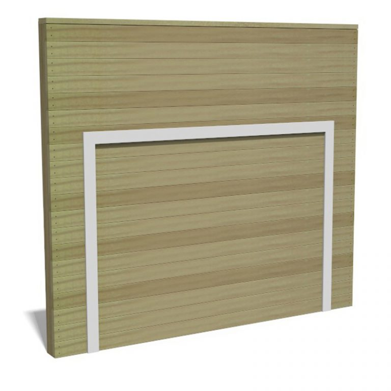Timber Target Wall Panel