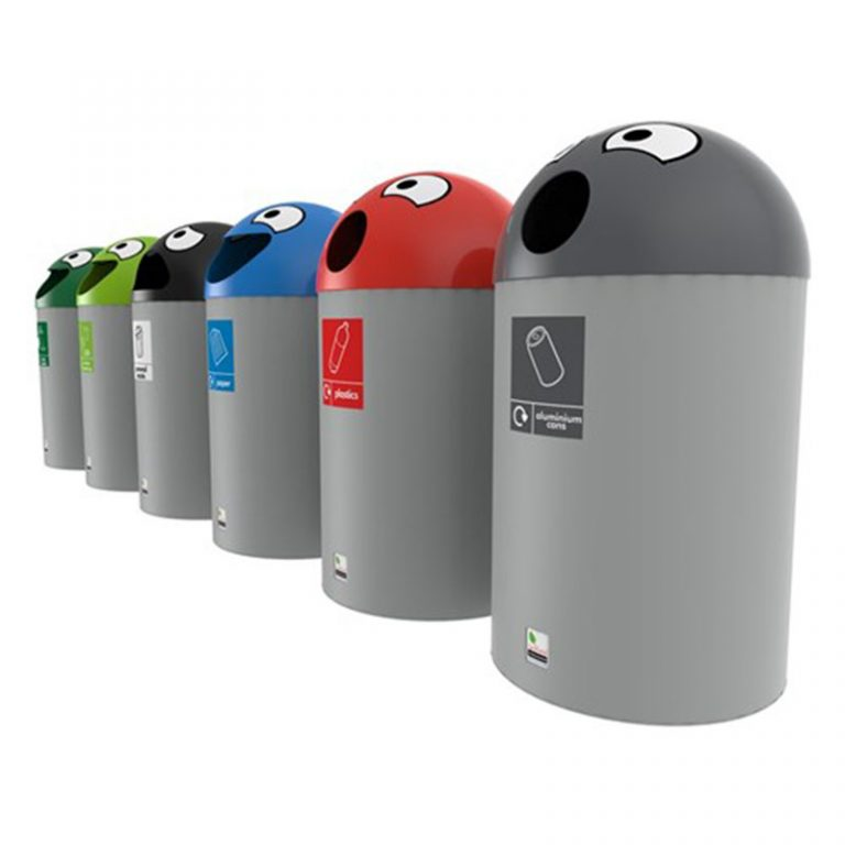 SchoolBuddyRecyclingbins FourSet