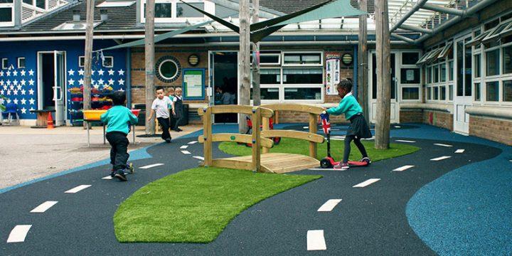 Gallions Playground Bike Track