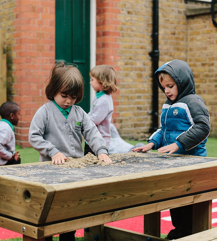 Pirate Top Sandpit Table