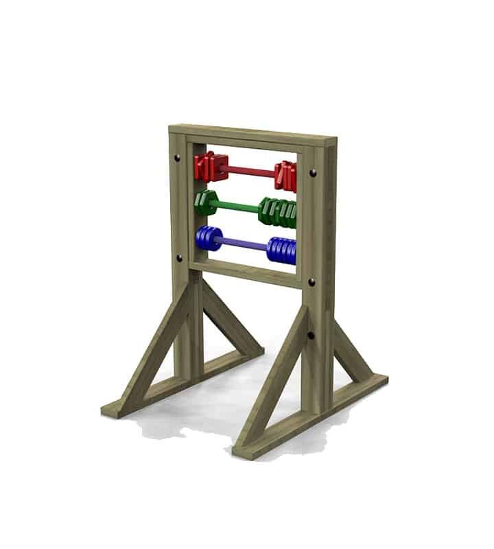 Freestanding Abacus
