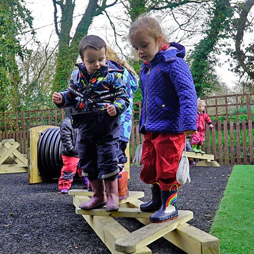 Little Movers Balance Beams for Early Years