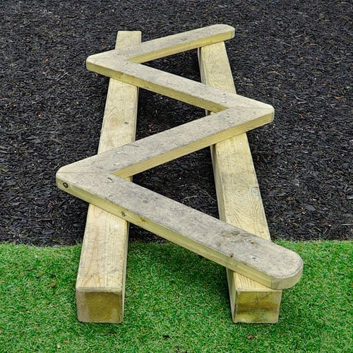 Little Movers Zig-Zag Balance Beam