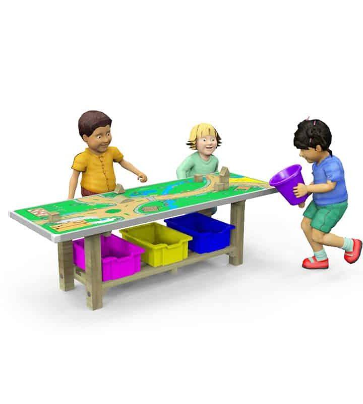 Small-World-Table EYFS