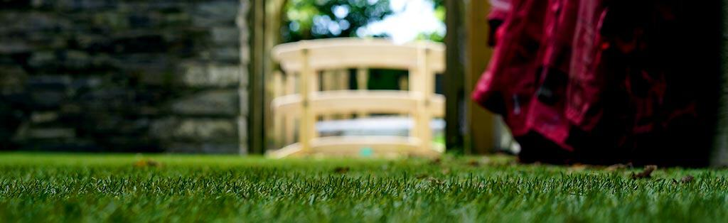 Synthetic Grass for Outdoor Forest School