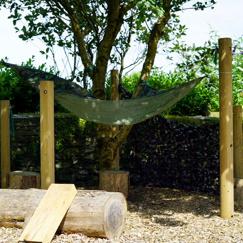 Nature Play - Den Building Posts