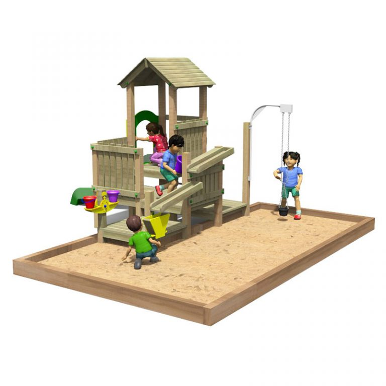 Sand Fort Play Tower