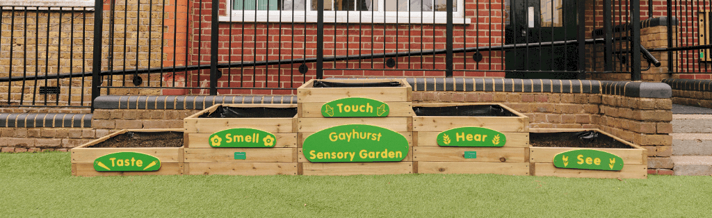 Sensory Planter Stax for Inclusive Playgrounds