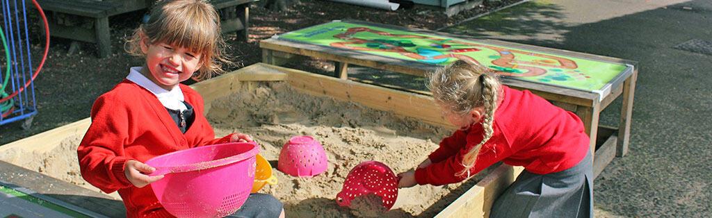 Fine Motor Skills - Sand Play