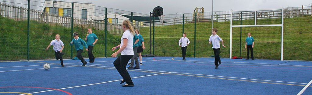A is for Active - Football and Sports for Schools
