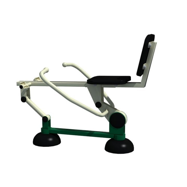 Young Adult Self Weighted Rower