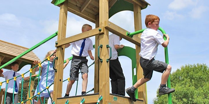 Promoting Risk Taking in the Playground