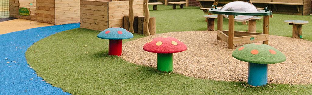 Imaginative Play - Mushroom Seats