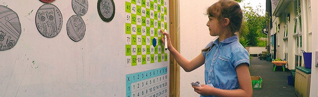 Maths Wall Play and Learning