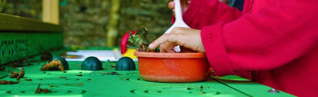 Symbolic Play - Mud Kitchen