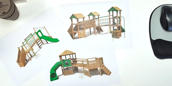 Bespoke Playground Renders