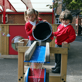 Early Years - Water Sand and Material Play