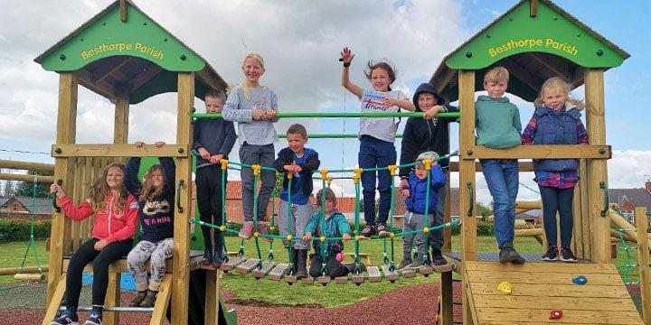 Besthorpe Playground Opening