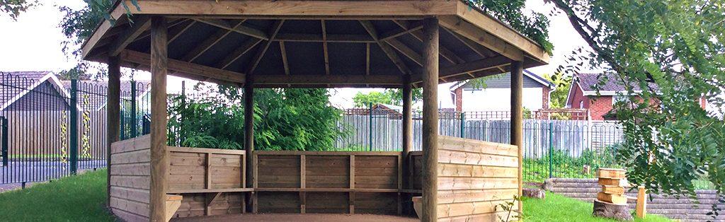 Functional Outdoor Classroom