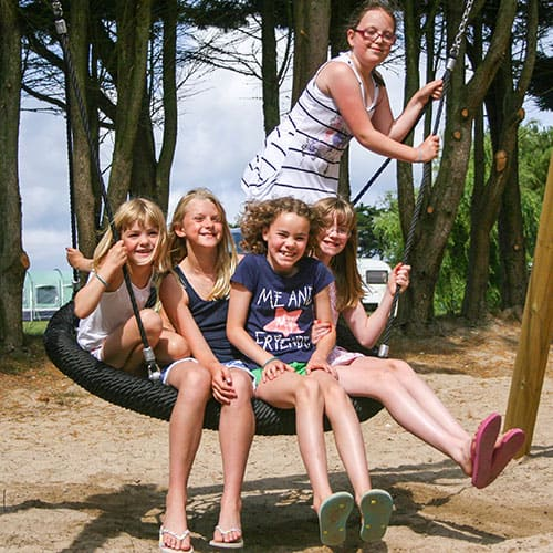 Gunvenna Holiday Park - Eagle Nest Swing