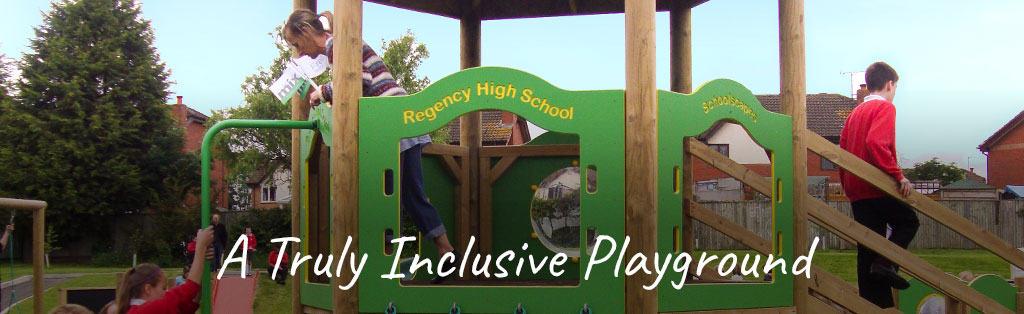 Regency High School - Inclusive Playground